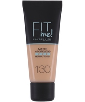 Maybelline Fit Me Matte + Poreless Foundation Normal To Oily 30 ml - 130 Buff Beige (U)