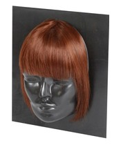 HairContrast Fringe Extensions Copper Chocolate (US)