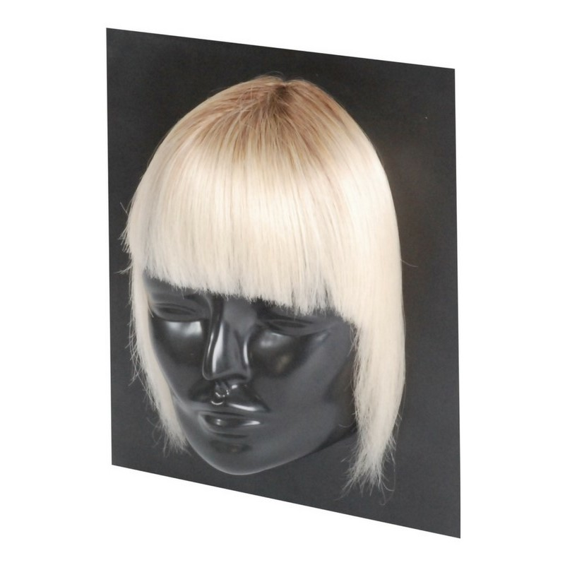 Haircontrast Haircontrast fringe extensions dark blonde us på nicehair.dk