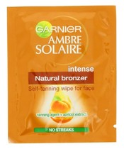 Garnier Ambre Solaire Self-Tanning Wipes For Face 5,6 ml