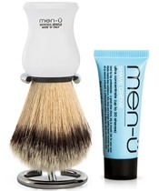 men-ü Premier Synthetic Bristle - White