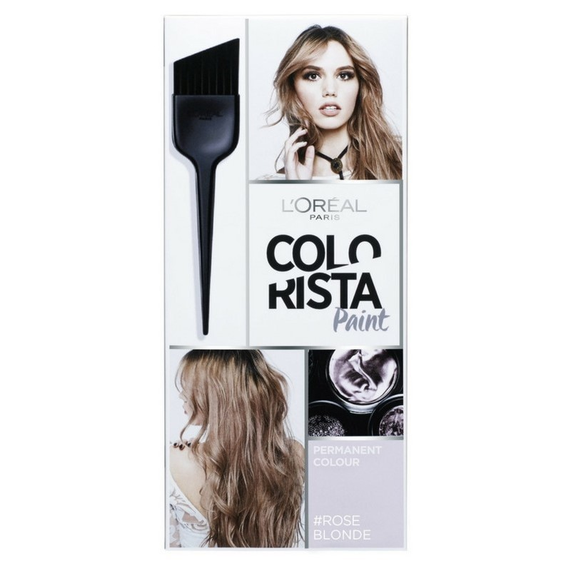 lor233al paris colorista hairpaint permanent colour 3 rose