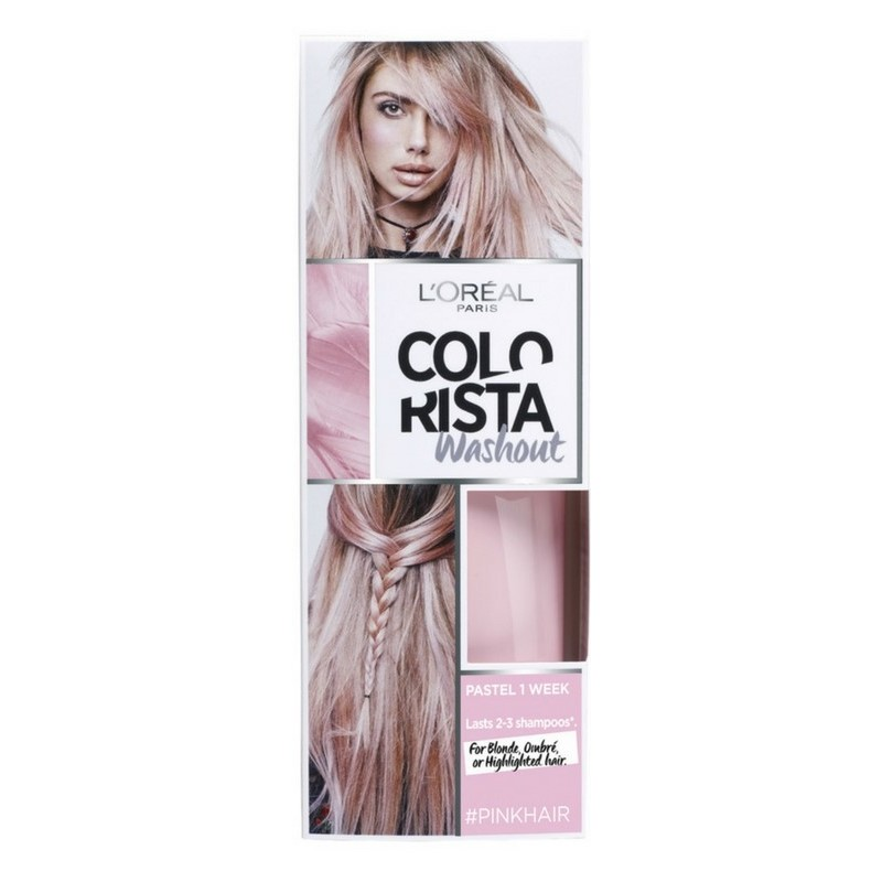 pink hårfarve permanent