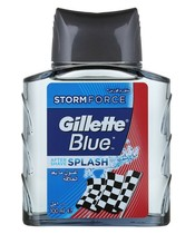Gillette Blue Splash Aftershave 100 ml