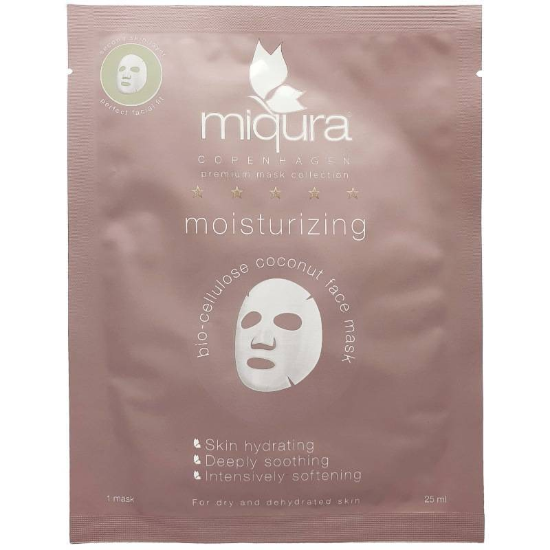 Miqura Moisturizing Coconut Face Mask 1 Piece thumbnail