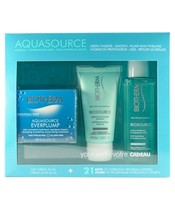 Biotherm Aquasource Everplump Hydra Trio Set Normal/Combination Skin