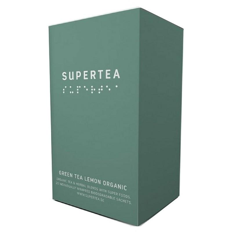 Teministeriet supertea green tea coconut organic 20 stk fra Teministeriet på nicehair.dk