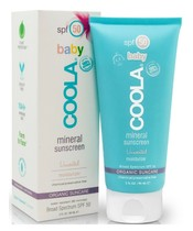 COOLA Baby Mineral Sunscreen Unscented Moisturizer SPF 50 - 90 ml