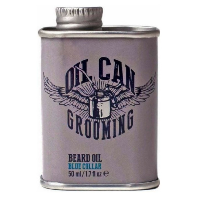 oil can grooming beard oil blue collar 50 ml 38 40. Black Bedroom Furniture Sets. Home Design Ideas