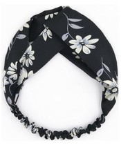 Everneed Annemone Headband W. White/Lightblue Flowers (6119) (U)