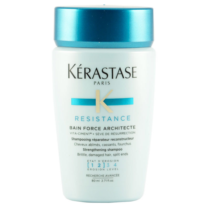 K rastase resistance bain force architecte shampoo 80 ml for Kerastase bain miroir conditioner