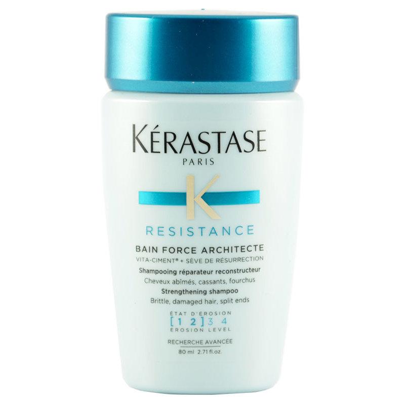 K rastase resistance bain force architecte shampoo 80 ml for Kerastase bain miroir 2 shampoo