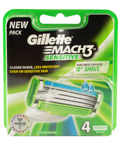 Gillette Mach3 Sensitive 4 blade