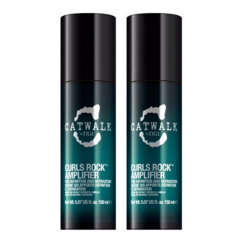 Billede af 2x TIGI Catwalk Curlesque Curls Rock Amplifier (2x150 ml)