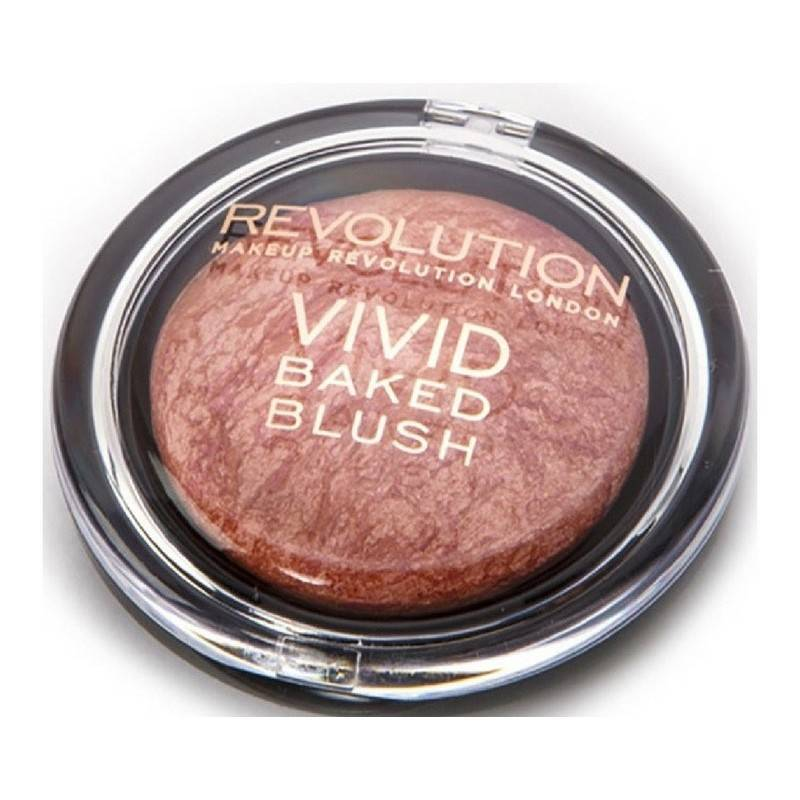 Makeup revolution vivid baked blush 6 gr - all i think about is you fra Makeup revolution på nicehair.dk