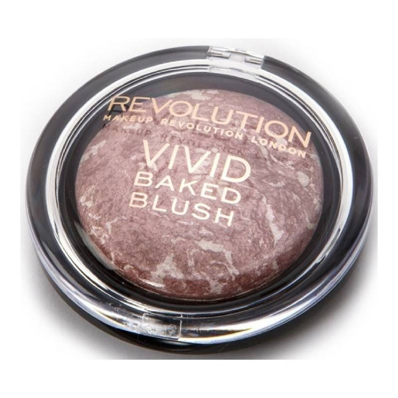 Makeup revolution vivid baked blush 6 gr - make love instead fra Makeup revolution på nicehair.dk
