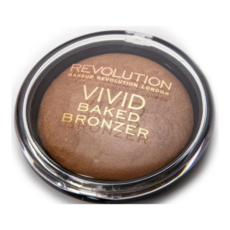 Makeup revolution vivid baked bronzer 13 gr - rock on world fra Makeup revolution fra nicehair.dk