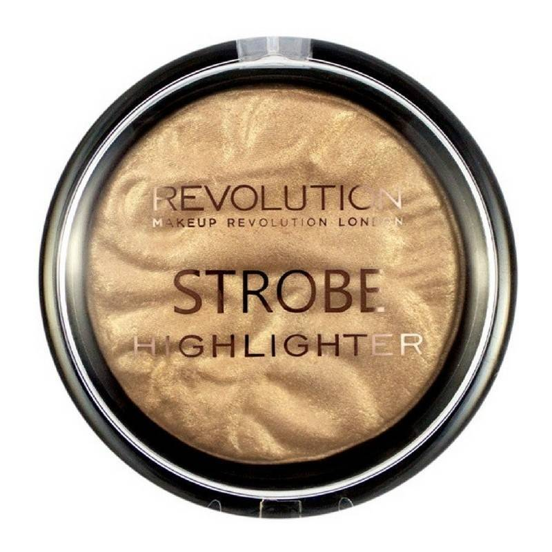 Makeup revolution Makeup revolution strobe highlighter 75 gr - moon glow lights på nicehair.dk