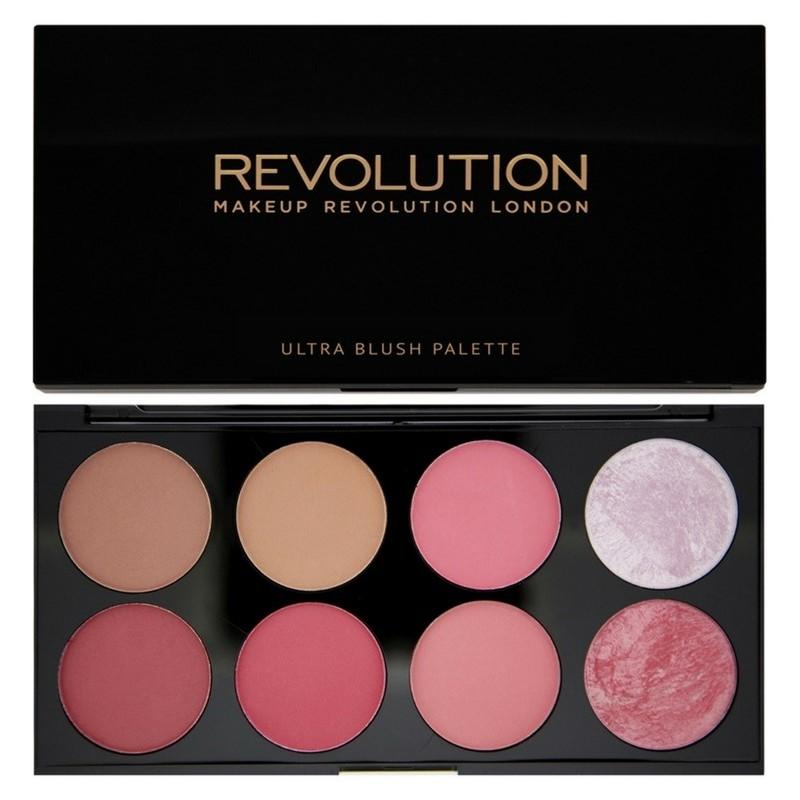 Makeup revolution Makeup revolution ultra blush palette all about pink 13 gr på nicehair.dk