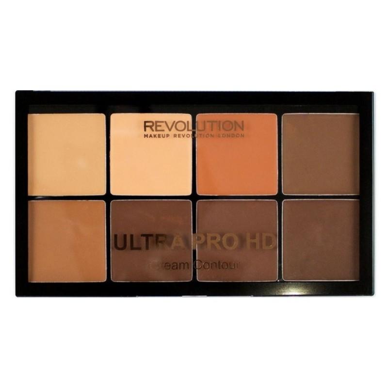 Makeup revolution – Makeup revolution ultra pro hd cream contour light medium 20 gr på nicehair.dk