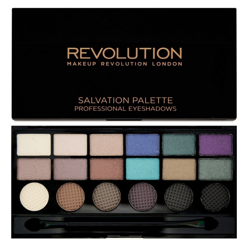Makeup Revolution Welcome To The Pleasuredome 18 Eyeshadows 13 gr.