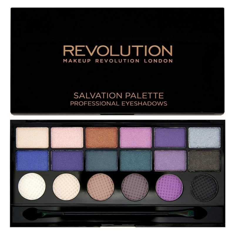 Makeup revolution – Makeup revolution welcome to the pleasuredome 18 eyeshadows 13 gr på nicehair.dk