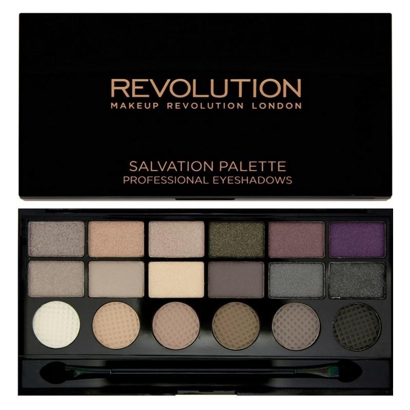 Makeup revolution – Makeup revolution unicorns unite 18 eyeshadows 13 gr på nicehair.dk