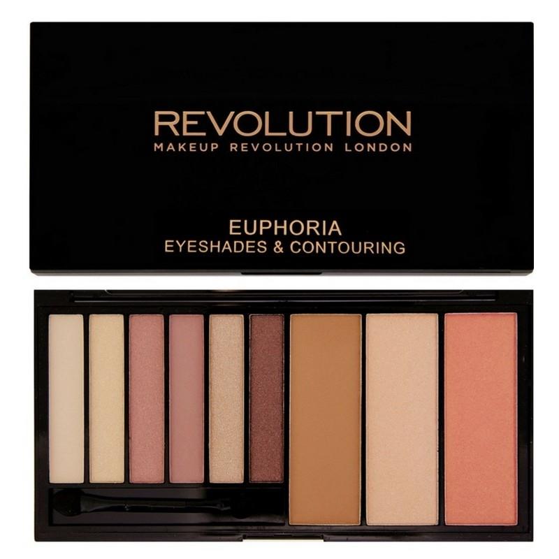 Makeup revolution Makeup revolution pro contour brush - f105 på nicehair.dk