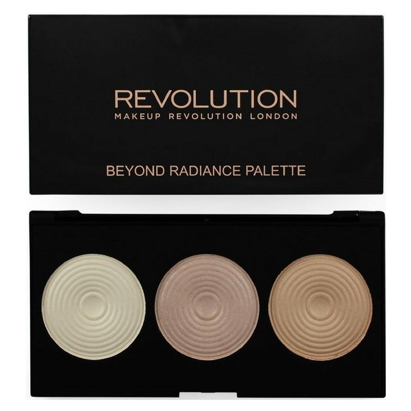 Billede af Makeup Revolution Beyond Radiance 3 Highlighters 15 gr.