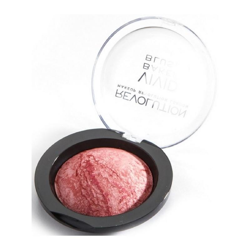 Makeup revolution Makeup revolution shimmer brick - rose gold 7 gr fra nicehair.dk