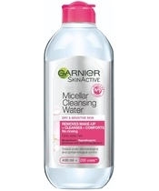 Garnier Skinactive Cleansing Micellar Water Dry & Sensitive Skin 400 ml