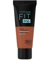Maybelline Fit Me Matte + Poreless Foundation Normal To Oily 30 ml - 360 Mocha