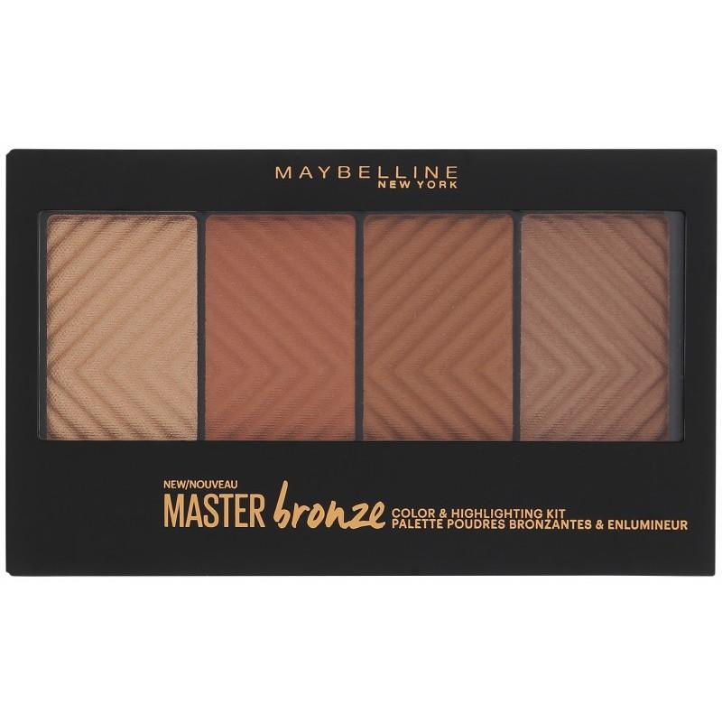 Maybelline Master Bronze & Highlighting Palette 14 gr