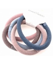 Everneed Soft Rubber Band 5 Pieces Pastel Colors (5237)