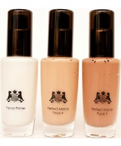 HOTmakeup HOT Foundation Collection Kit 3 x 30 ml
