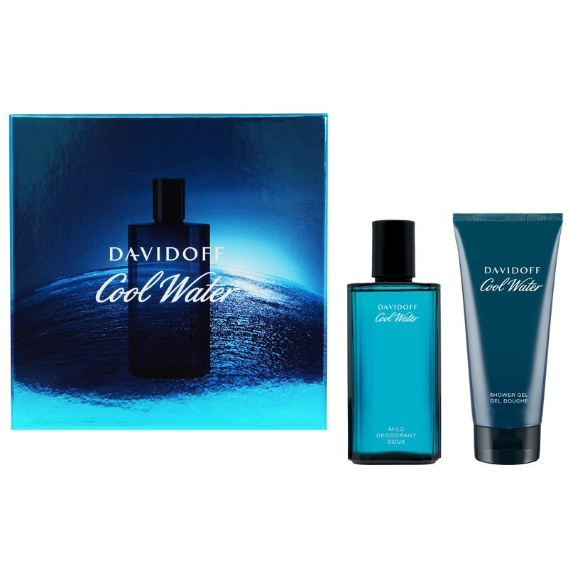 Davidoff Cool Water Deo Gift Set For Him Limited Edition
