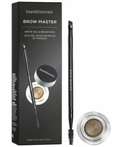 Bare Minerals Brow Master Brow Gel & Brush Duo 3 gr.