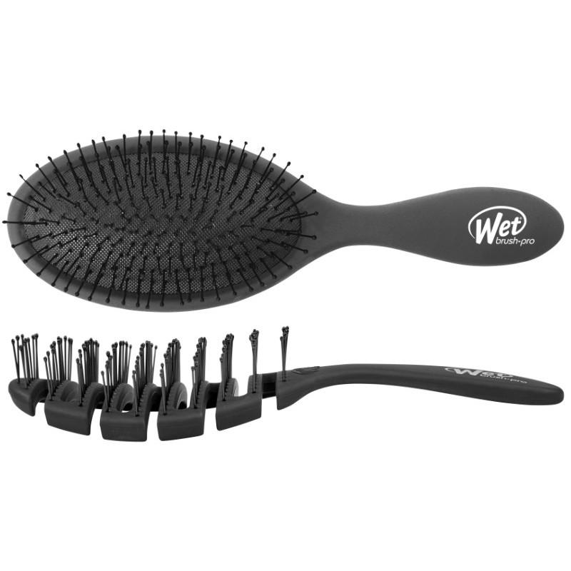 HH SIMONSEN® The Wet Brush Black + Flex Dry Brush (Limited Edition)