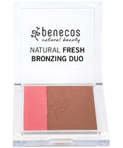 Benecos Natural Fresh Bronzing Duo 8 g - California Nights