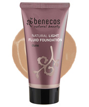 Benecos Natural Light Fluid Foundation 30 ml - Dune