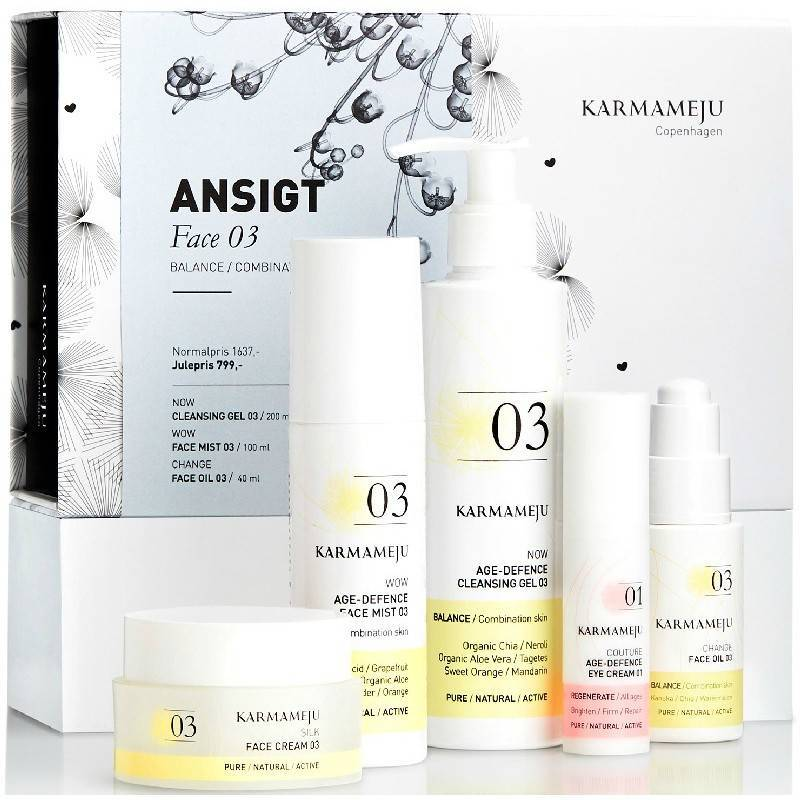 Karmameju Ansigt Face 03 Combination Skin Gift Set