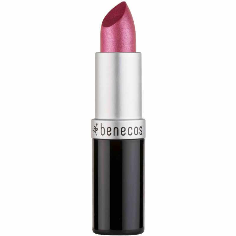 Benecos Natural Lipstick 4,5 gr. - Hot Pink thumbnail