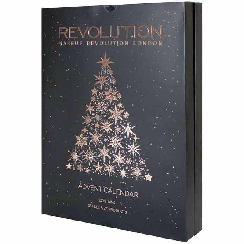 Make Up Weihnachtskalender.Makeup Revolution Advent Calendar 25 Gift Set Limited Edition