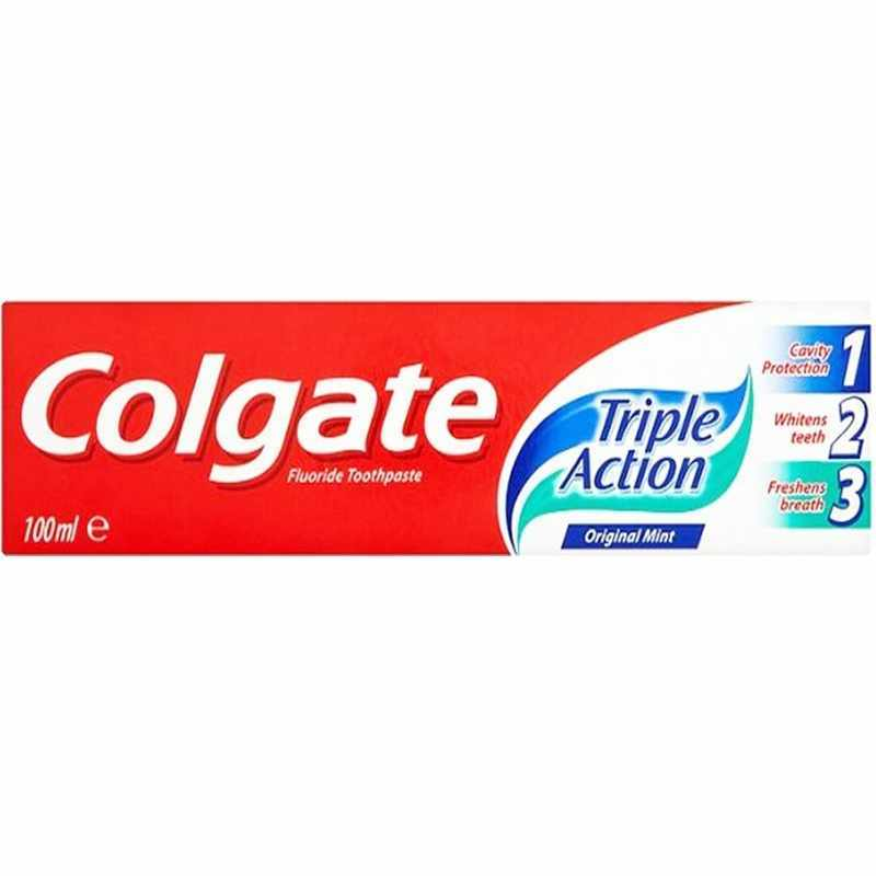 Colgate Triple Action Toothpaste 100 ml