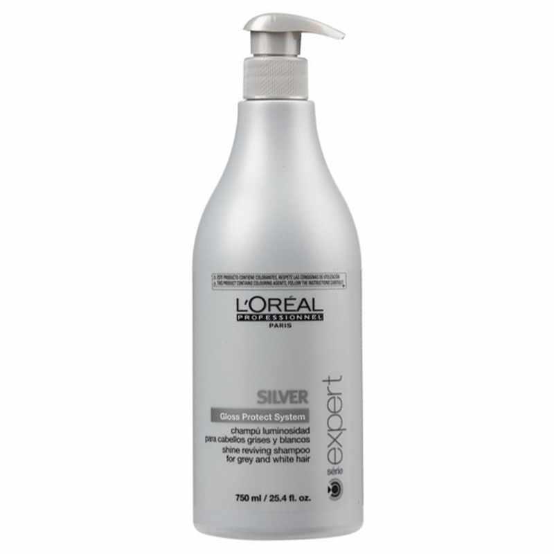 serie expert shampoo silver