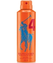 Ralph Lauren #4 Big Pony Orange Deo Spray 200 ml (Limited Edition)