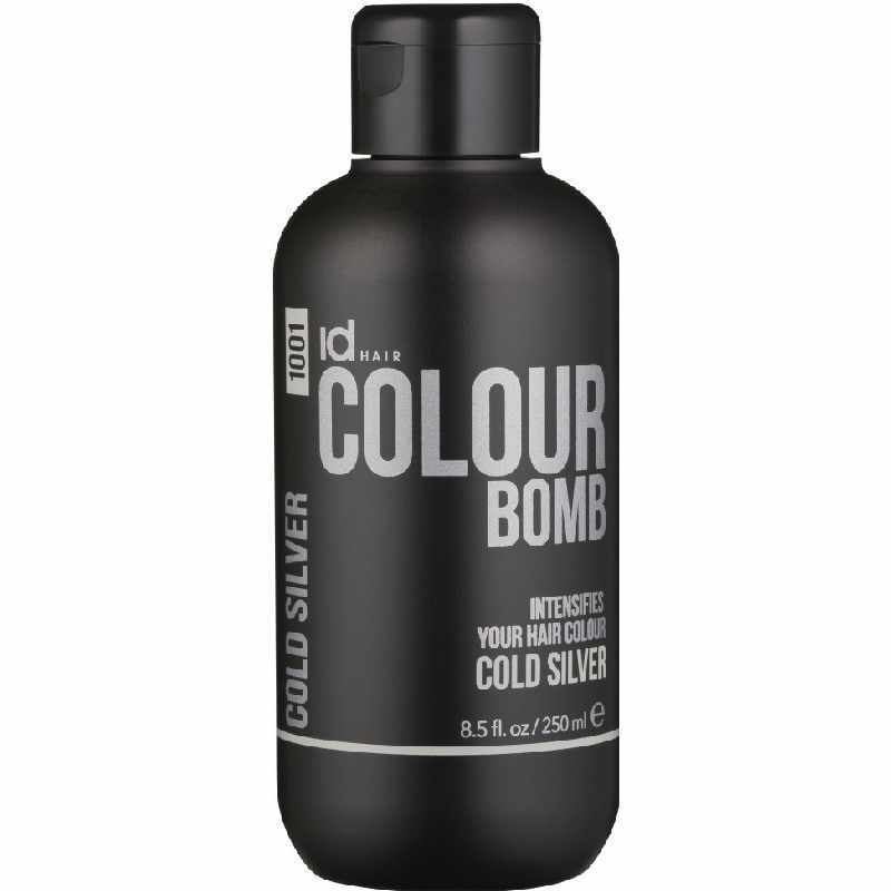 Id Hair Colour Bomb Cold Silver 1001 250 ml