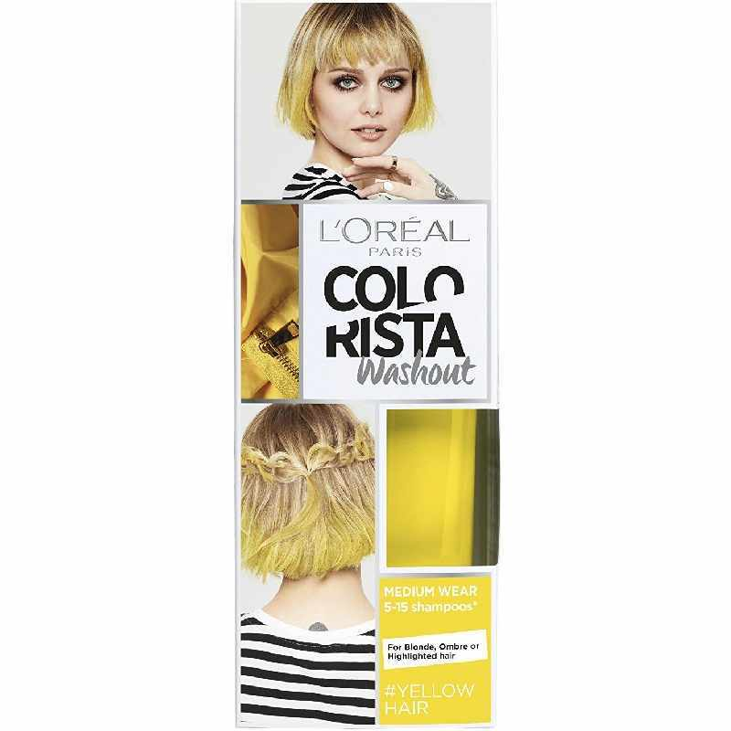l 39 oreal paris colorista washout yellow hair 80 ml. Black Bedroom Furniture Sets. Home Design Ideas