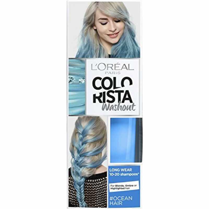 L Oreal Paris Colorista Washout Ocean Hair 80 Ml