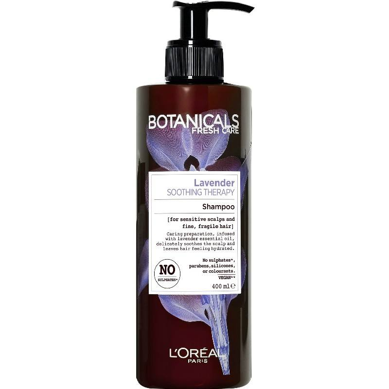 Organic Beauty Products >> L'Oreal Paris Botanicals Lavender Soothing Therapy Shampoo ...